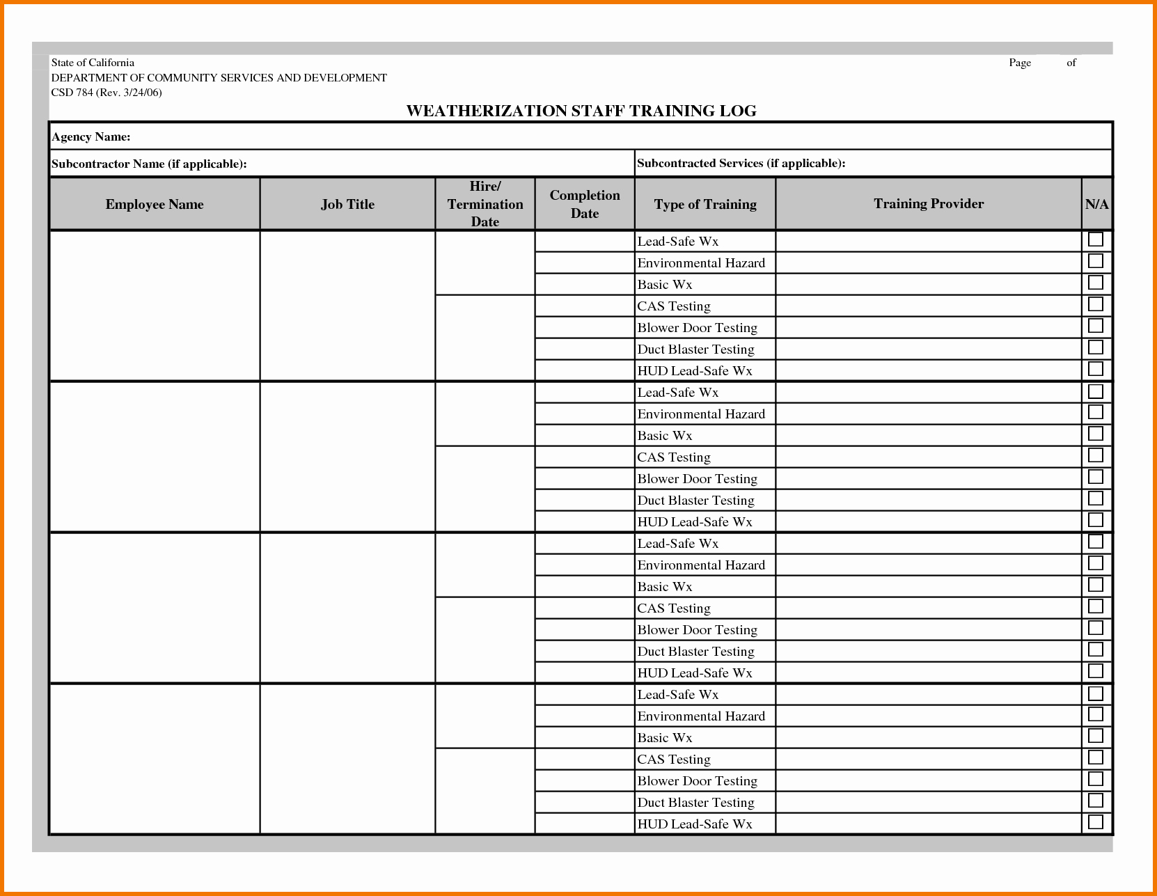 Employee Training Record Template Excel Inspirational Employee Training Excel Template Employee Training