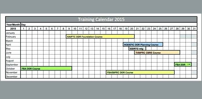 Employee Training Schedule Template Excel Beautiful Employee Training Schedule Template Day Itinerary