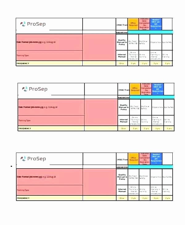 Employee Training Schedule Template Excel Best Of Blank Monthly Ar Template Excel Modified Class Work