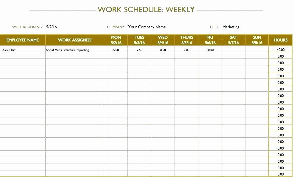 Employee Training Schedule Template Unique Employee Cross Training Template – Flybymedia