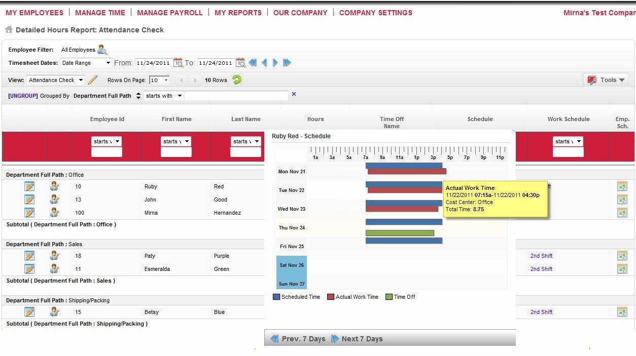 Employee Vacation Tracker Template Luxury Employee attendance Spreadsheet – Spreadsheet Template