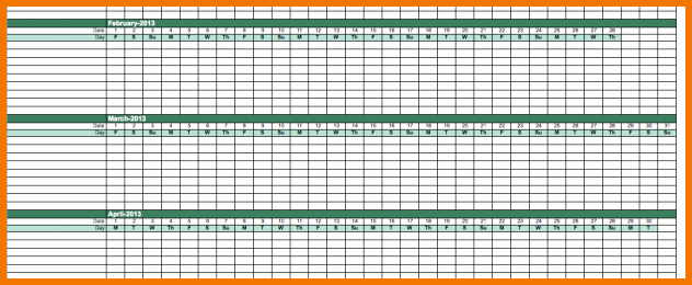 Employee Vacation Tracking Template Awesome Employee Vacation Tracking Calendar Template Excel