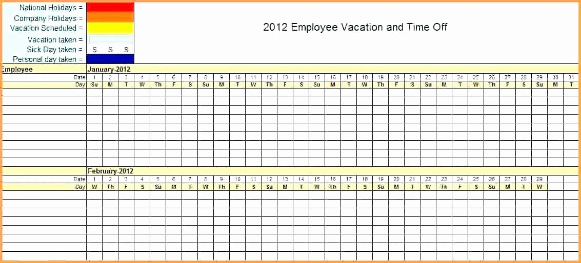 Employee Vacation Tracking Template Beautiful Time Tracking Excel Spreadsheet Time Tracking Excel