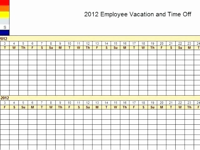 Employee Vacation Tracking Template New Vacation Tracker Excel Employee Vacation Tracker Excel