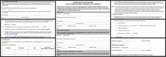 Employment Contract Template Word Inspirational 5 Standard Employment Contract Template – Word Pdf format