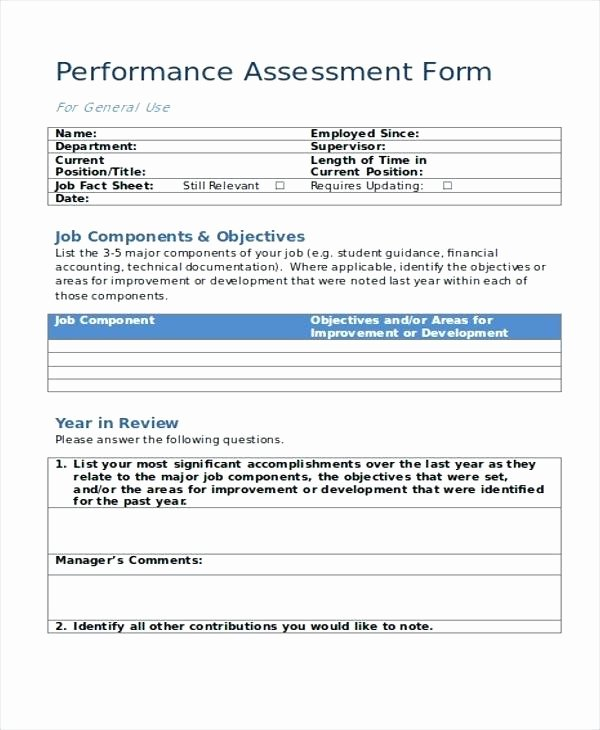 Employment Skills assessment Template Inspirational Employment Skills assessment Template Templates Word Excel
