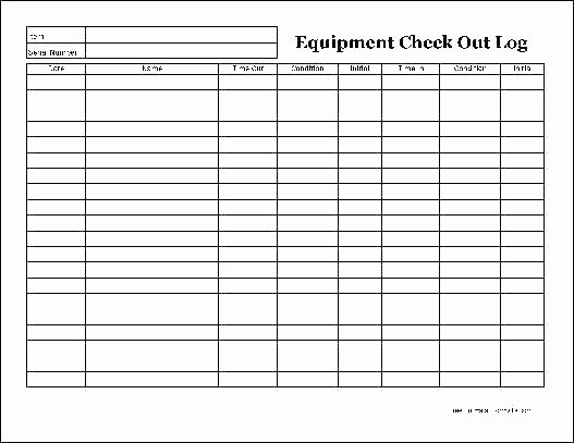 Equipment Checkout form Template Elegant Out Sheet Excel Luxury Sign Template Download by Vehicle