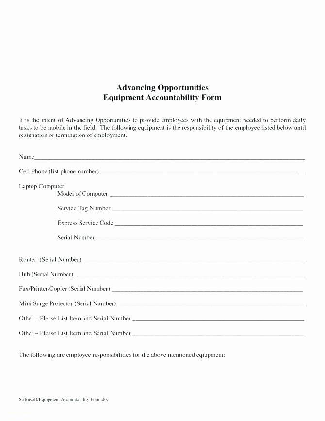 Equipment Loan Agreement Template Elegant Equipment Loan form Template