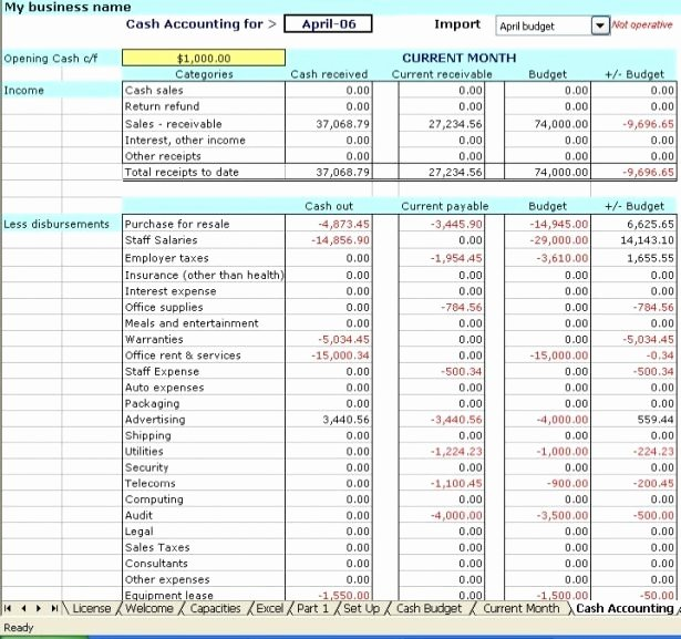Estate Accounting Excel Template Fresh Excel Bookkeeping Template Beepmunk