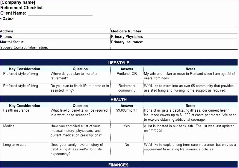 Estate Planning Template Excel Awesome 7 Wedding Checklist Template Excel Exceltemplates