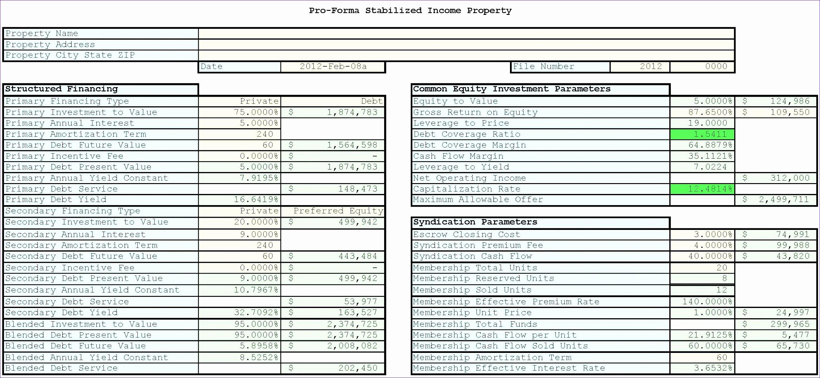 Estate Planning Template Excel Inspirational Estate Planning Spreadsheet Spreadsheet softwar Real