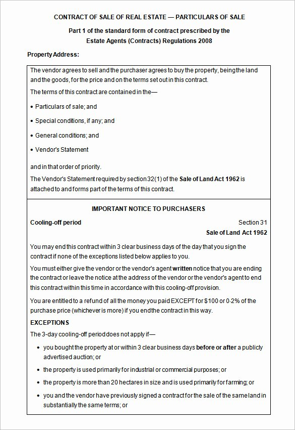 Estate Sale Contract Template Beautiful 13 Real Estate Contract Templates Word Pages Docs