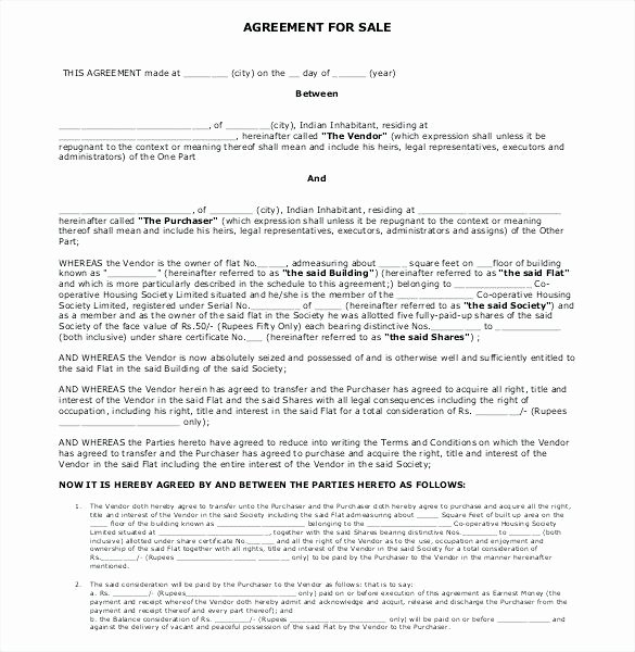 Estate Sale Contract Template Elegant Real Estate Sales Agreement Elegant Sample Purchase 7