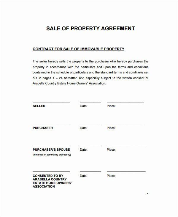 Estate Sale Contract Template Unique 15 Sales Contract Template Word Pages