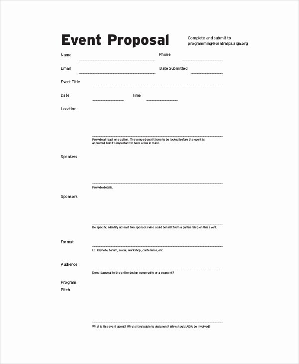 Event Budget Proposal Template Best Of 10 Bud Proposal Examples Pdf Word Pages