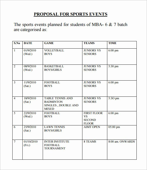 Event Budget Proposal Template Best Of event Proposal Template 21 Free Word Pdf format