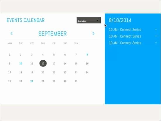 Event Calendar Template for Website Awesome 35 Free Calendar HTML Templates