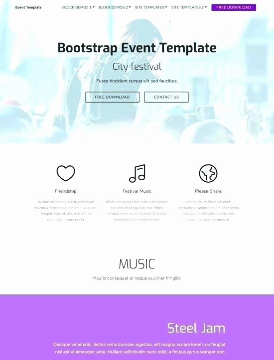 Event Calendar Template for Website Awesome event Calendar Website Template