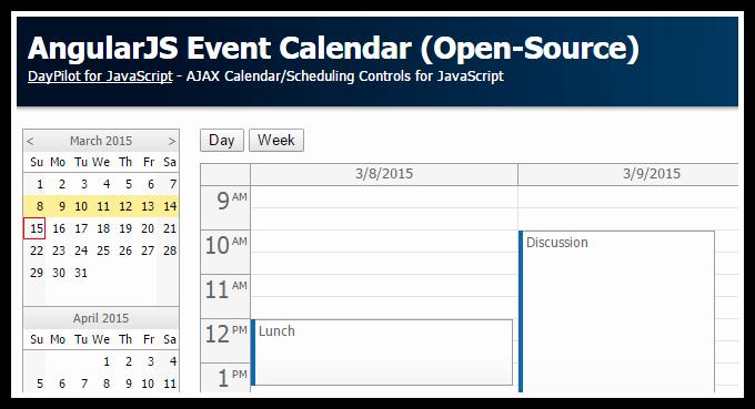 Event Calendar Template for Website Awesome Open source Website Templates events Calendar List