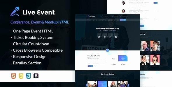 Event Calendar Template for Website Best Of Responsive Calendar HTML event Template Free 7 Best