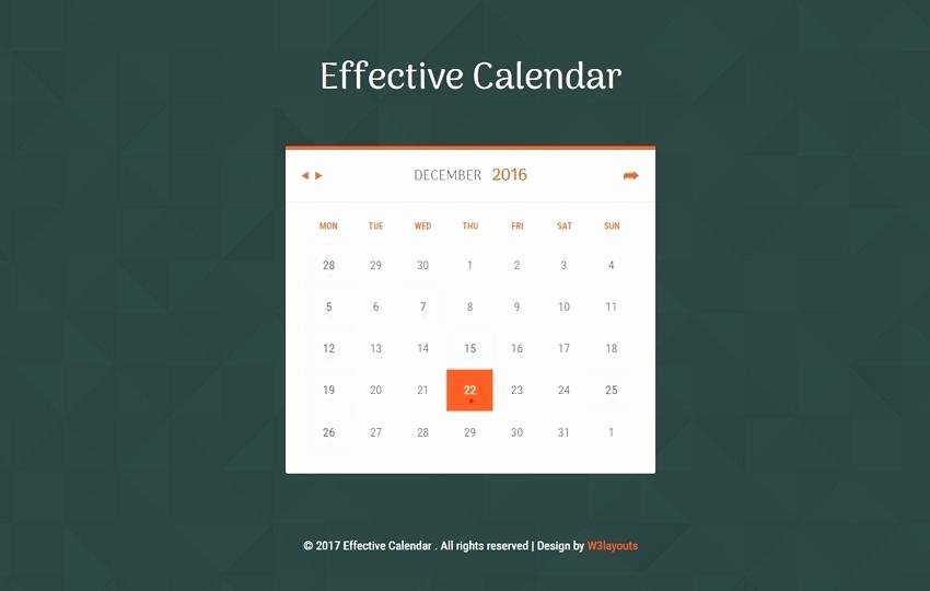 Event Calendar Template for Website Inspirational event Calendar Template for Website