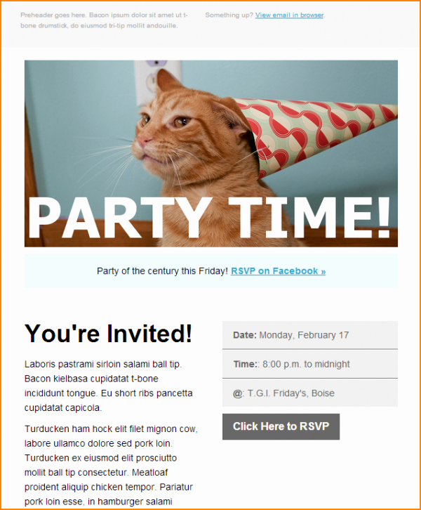 Event Invitation Email Template Beautiful Template event Invitation Email Template Send Smarter