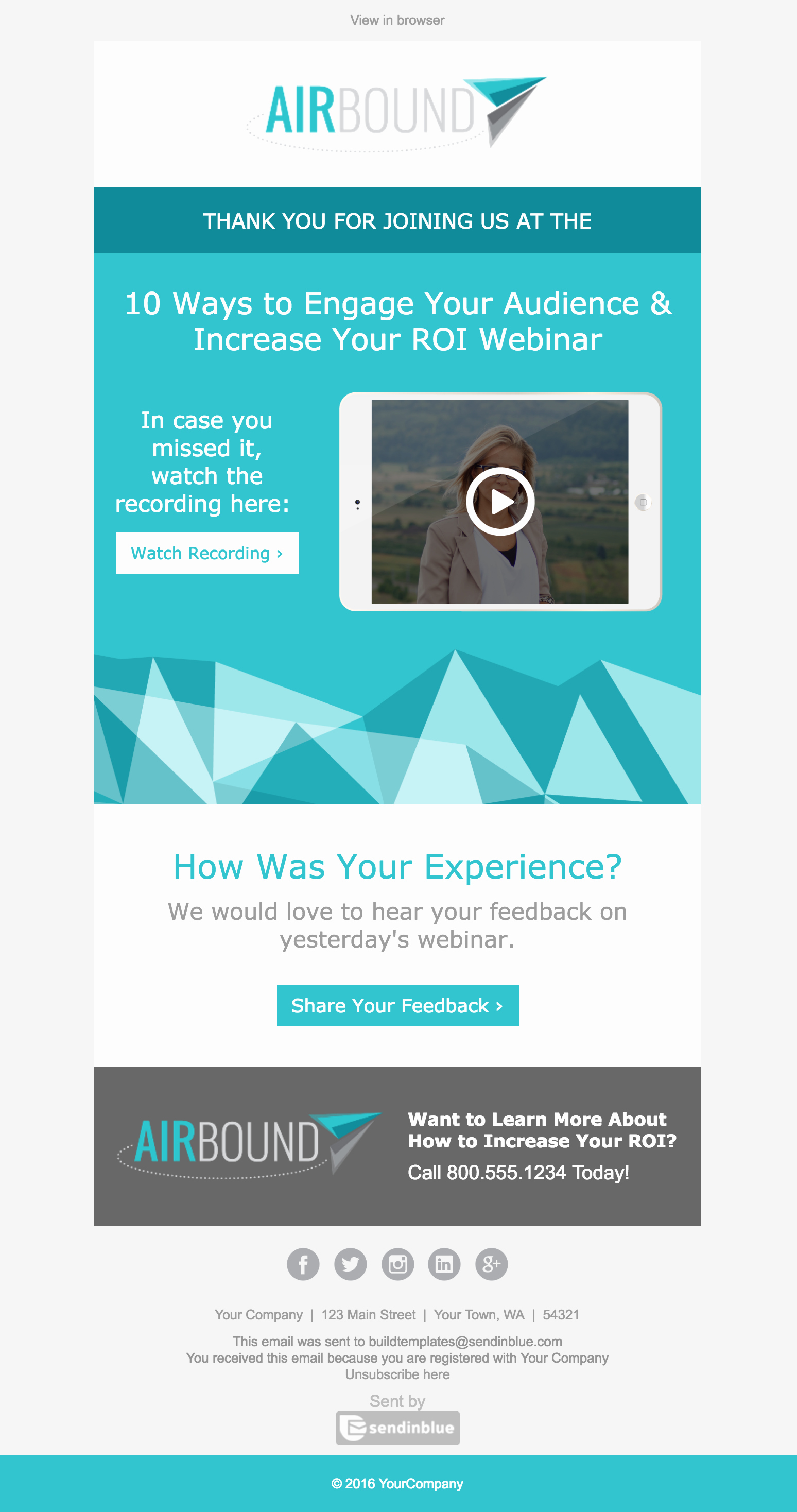 Event Invitation Email Template Best Of top 8 B2b Email Templates for Marketers In 2017