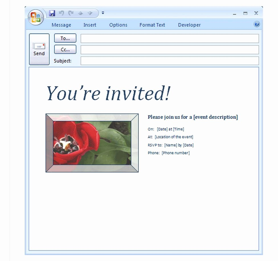 Event Invitation Email Template Lovely Invitation Templates