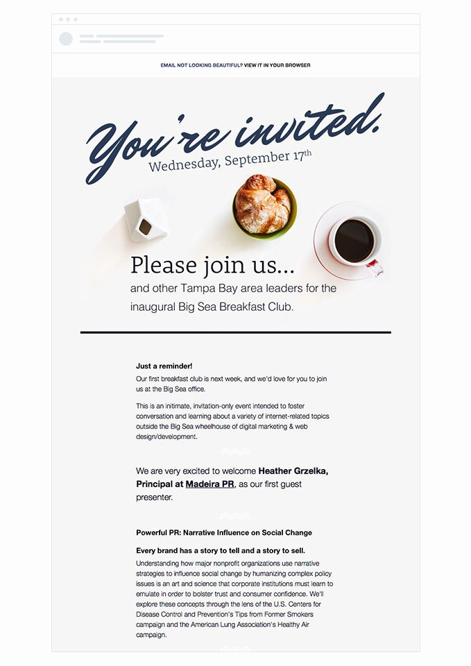 Event Invitation Email Template Luxury 4 event Invitation Emails that Draw Crowds