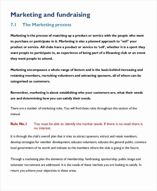 Event Marketing Plan Template Inspirational 34 Marketing Plan Templates In Pdf