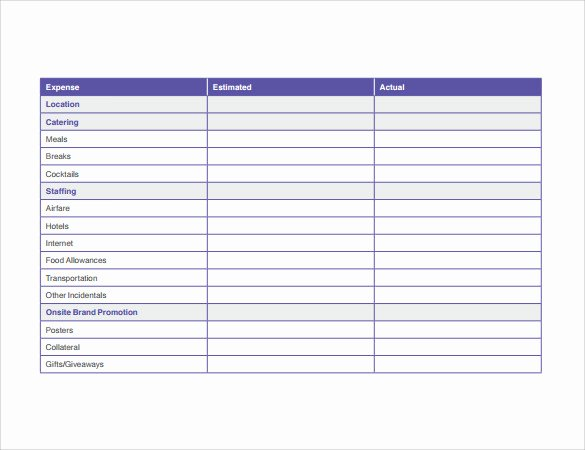 Event Marketing Plan Template Unique 10 Sample Marketing Timeline Templates to Download