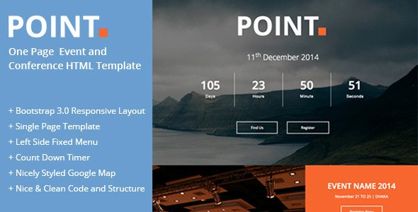 Event One Sheet Template Awesome Point E Page event and Conference Template by