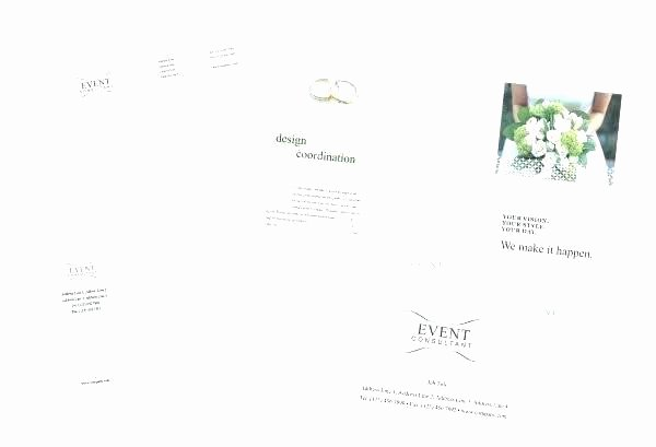 Event Planner Invoice Template Awesome Wedding Planner Brochure Template – Btcromaniafo