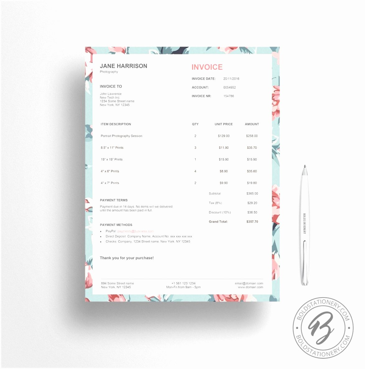 Event Planner Invoice Template Inspirational 8 event Planning Invoice Template Reruu