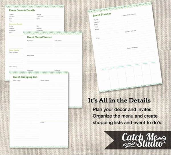 Event Planning Calendar Template Lovely 16 Calendar Templates