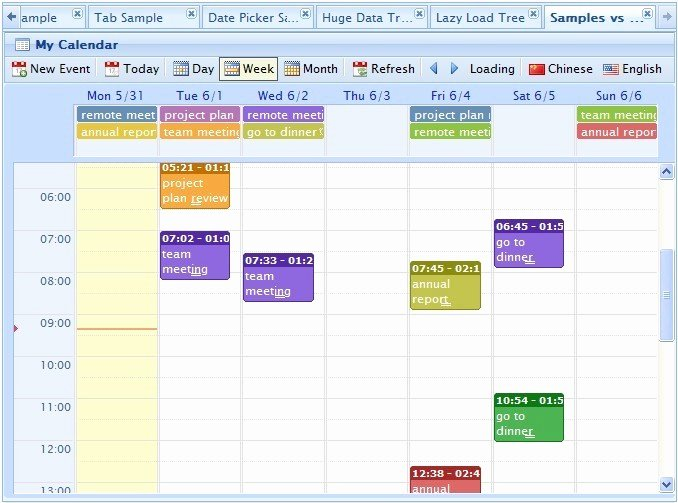 Event Planning Calendar Template Lovely Webd Jquery event Calendar Planner Freeware Version 1 2 by