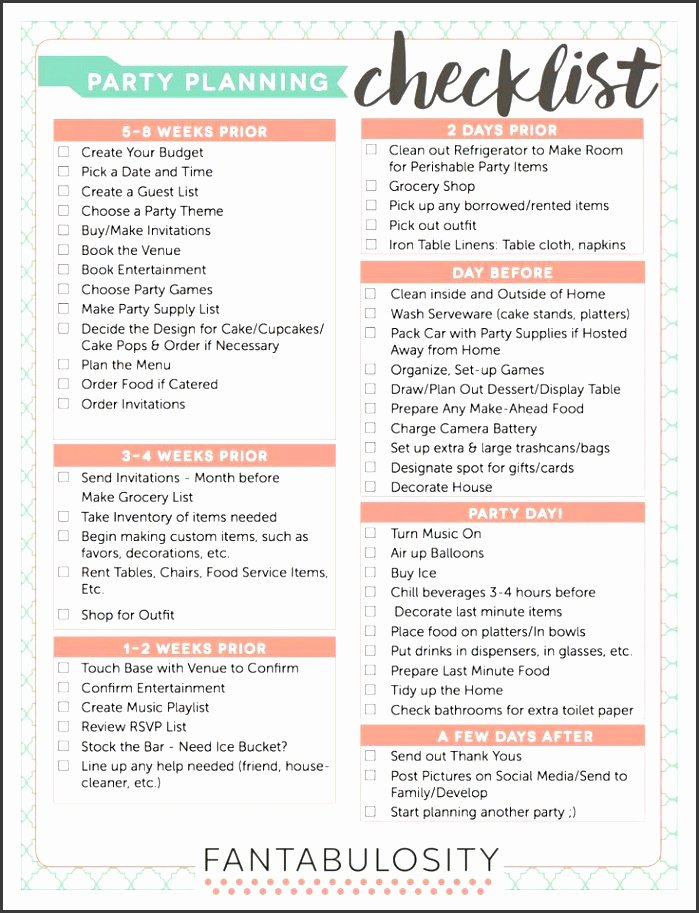 Event Planning Checklist Template Best Of 10 Church event Planning Checklist Example