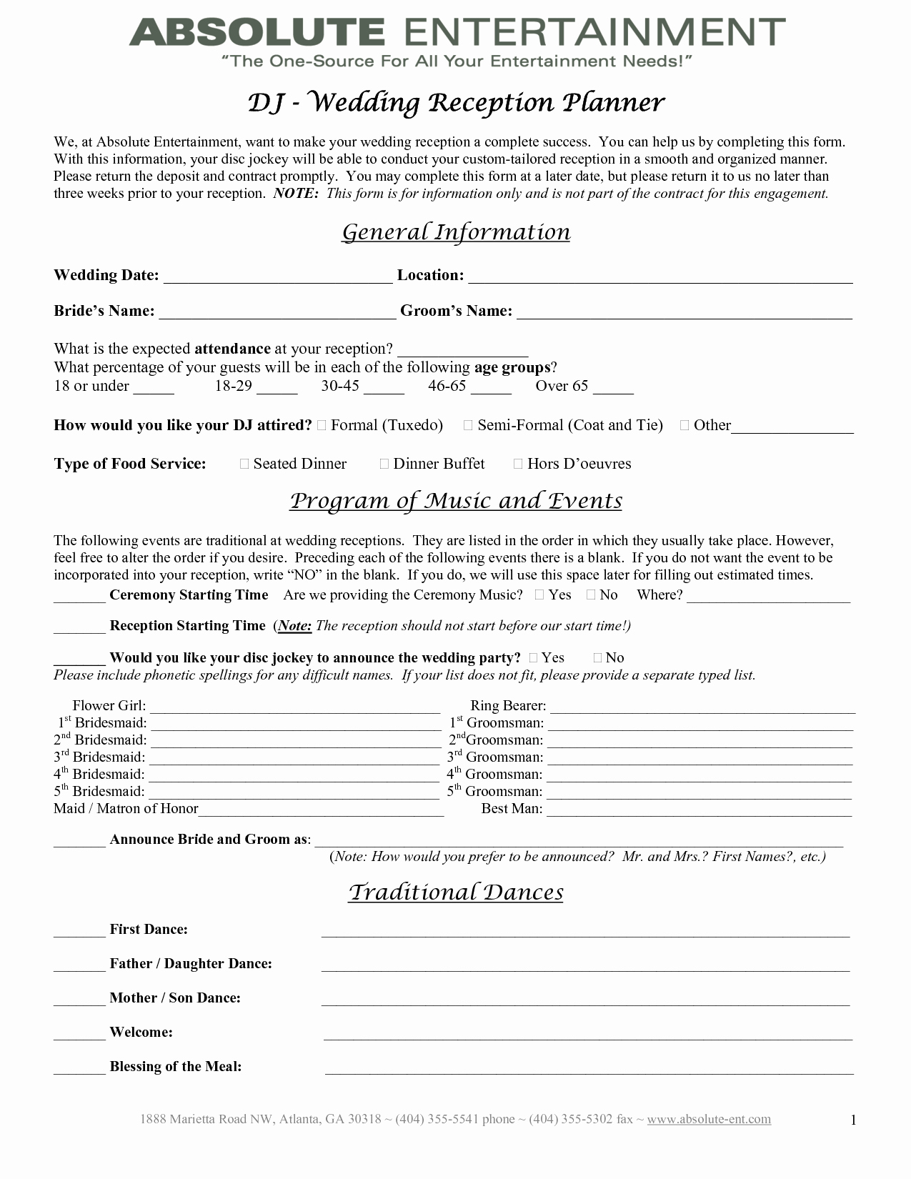 Event Planning Contract Template Beautiful 7 Best Of Printable Wedding Planner Contract
