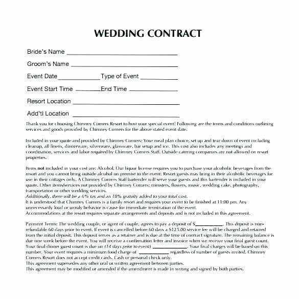 Event Planning Contract Template Free Awesome event Planner Contracts Contract for event Planning