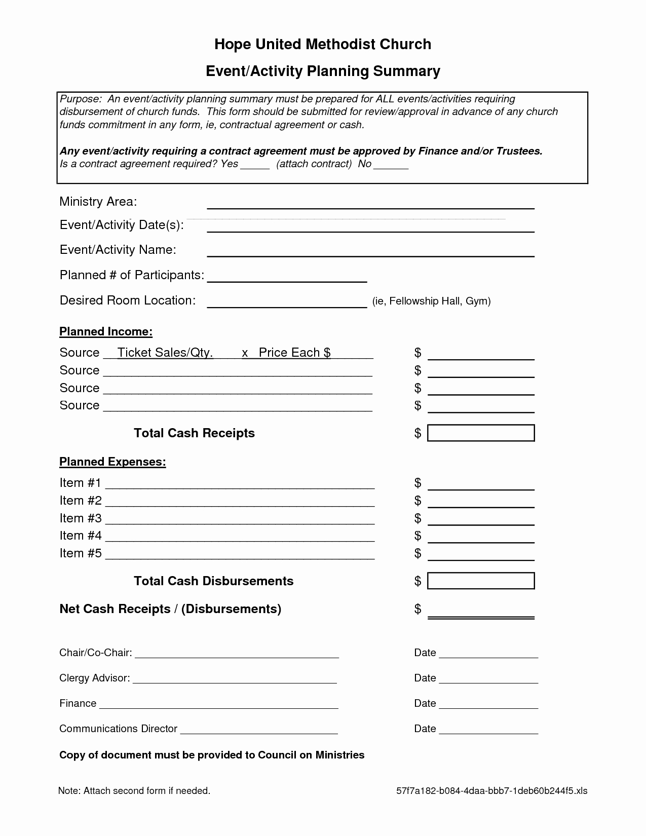 Event Planning Contract Template Free Luxury 7 Best Of event Planning forms Free Printable
