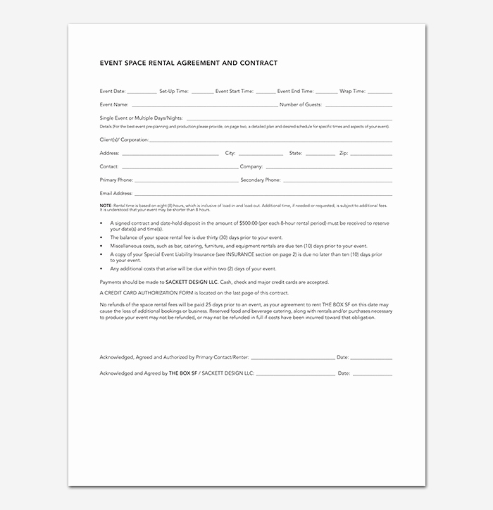 Event Planning Contract Template Fresh event Contract Template 19 Samples Examples In Word