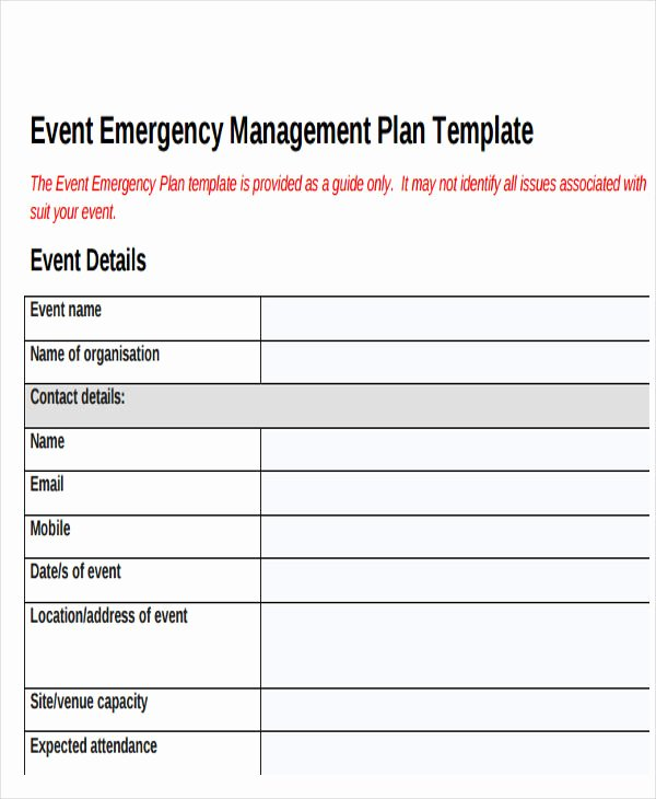 Event Planning Document Template Luxury 19 event Plan Templates In Pdf
