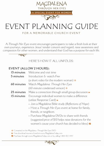 Event Planning Guide Template Beautiful About Magdalena today