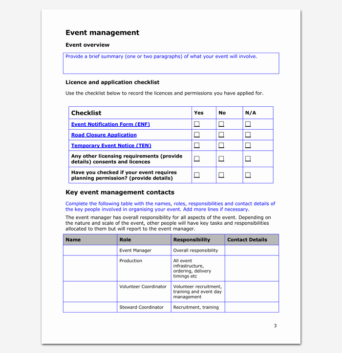 Event Planning Guide Template Best Of event Program Outline 13 Printable Samples Examples