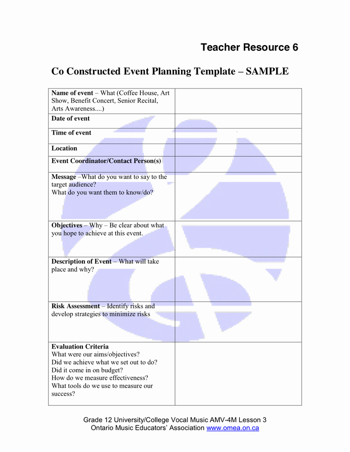 Event Planning Guide Template Elegant event Planning Template In Word and Pdf formats