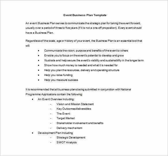 Event Planning Proposal Template Best Of event Planning Template 9 Free Word Pdf Documents