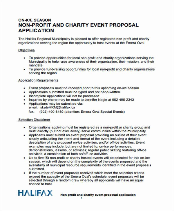 Event Planning Proposal Template Inspirational 43 event Proposals In Pdf