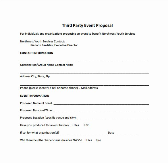 Event Planning Proposal Template Lovely 25 Sample event Proposal Templates – Psd Pdf Word