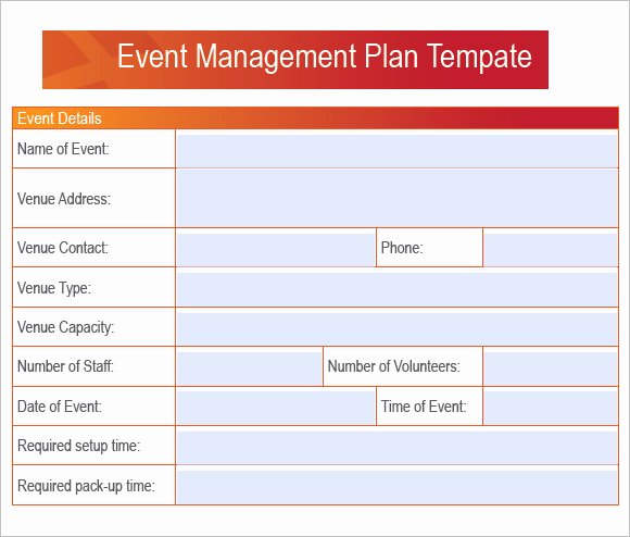 Event Planning Proposal Template Luxury 7 event Planning Samples