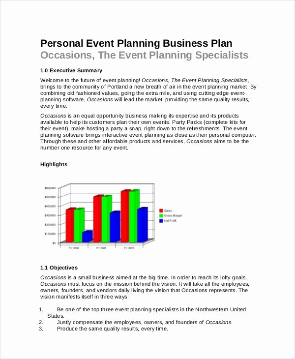 Event Planning Proposal Template New event Planning Template 11 Free Word Pdf Documents